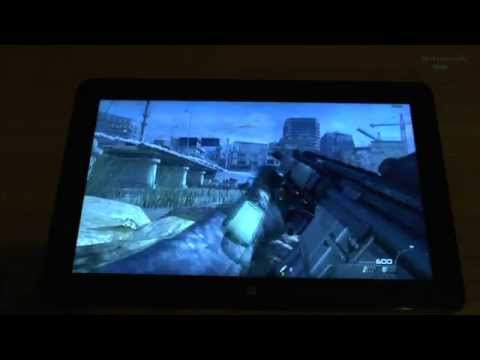 Call of Duty Modern Warfare 2 on tablet Intel Core M-5Y71 Dell Venue 11 Pro 7140 - EXTRA DETAILS