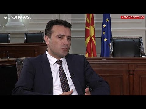 Όλη η συνέντευξη Ζάεφ στο euronews: Τι λέει για όλα τα καυτά θέματα