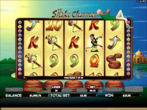 The Snake Charmer Slots 10 Free Spins