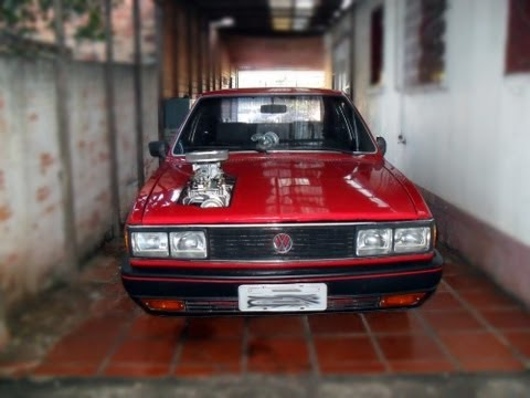 blower - Passat Flash 87 1.8S com blower Detroit 4:53, motor original, carbura 3E no alcool, bomba GTI, dosador pequeno, 0,8 pressão, rodas aro 16. Primeira vez que d...