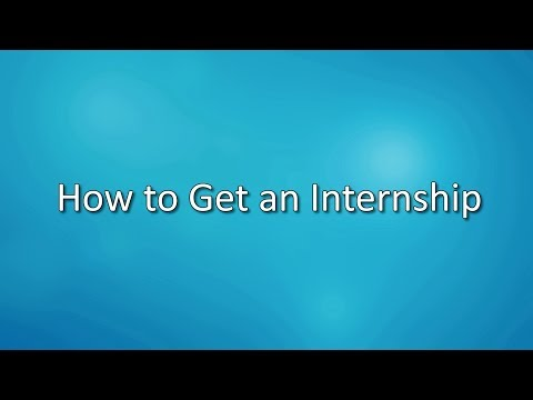 How to Get an Internship for Communication and Media Studies Students