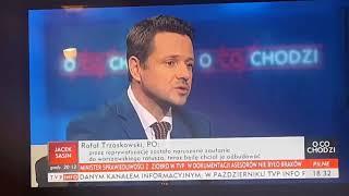 Redaktor Sam Pereira zaprosił do tvp info Trzaskowskiego żeby go sponiewierać a Rafał merytorycznie rozjechał ich walcem.