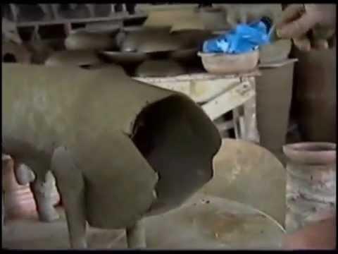 Como fazer um boi de argila - Sulino José Rocha