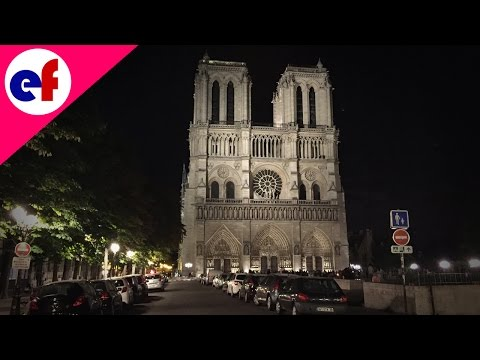 Notre-Dame Cathedral By Night | Explore France