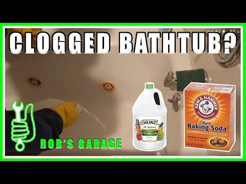 How to Unclog Drain With Baking Soda and Vinegar | Rob's Garage Ep. 3