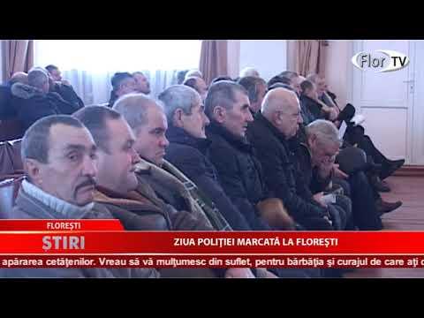 Ziua poliției marcată la Florești