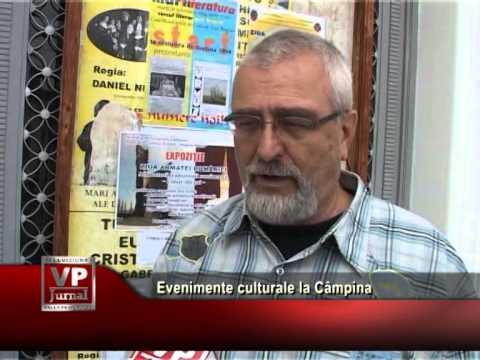 Evenimente culturale la Câmpina