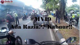 Video #MV19 - Ada Razia?? Kaabuuuuurr!! | Motovlog Indonesia MP3, 3GP, MP4, WEBM, AVI, FLV Agustus 2018