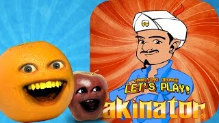 Midget Apple & Annoying Orange Play - Akinator!