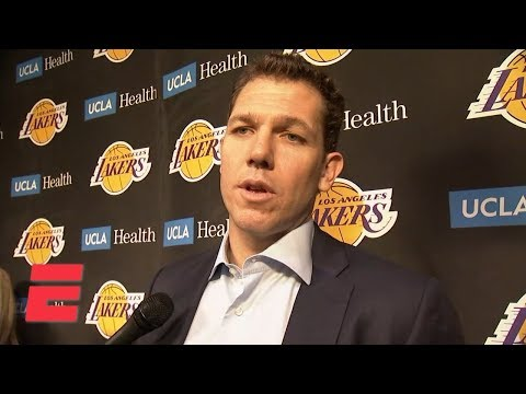 Video: Luke Walton on trade rumors affecting Lakers, loss to Pacers and more | NBA on ESPN