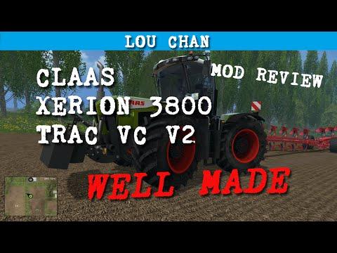 Claas Xerion 3800 Trac VC V2