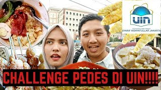 Video JAJAN DI KAMPUS UIN CIPUTAT! MIE DAHSYAT PEUDES 100 CABE!!! MP3, 3GP, MP4, WEBM, AVI, FLV November 2018