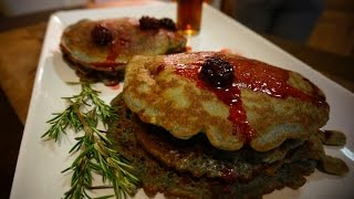 How To Make Paleo Blackberry Pancakes