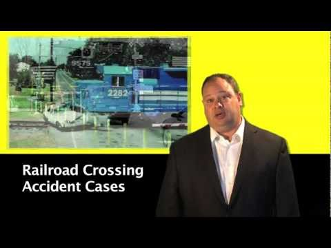 Railroad Crossing Accidents – John Cooper, Personal Injury Attorney