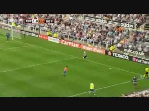 Goles del Newcastle United 2009-2010
