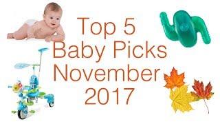 Top 5 Baby Gear in November 2017