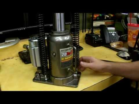 Harbor Freight Air/Over Hydraulic Bottle Jack Review Item 69593