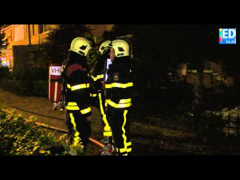 Mogelijk asbest vrijgekomen na zolderbrand Veldhoven