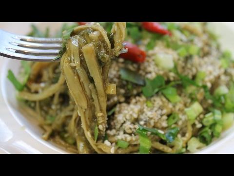 Soup Nor Mai ສຸບໜໍ່ໄມ້ Lao Bamboo shoot salad recipe - Morgane Recipes