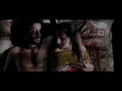 Vidya Balan and Arshad Warsi Kissing Scene - Ishqiya - Hindi Movie Romantic Scene