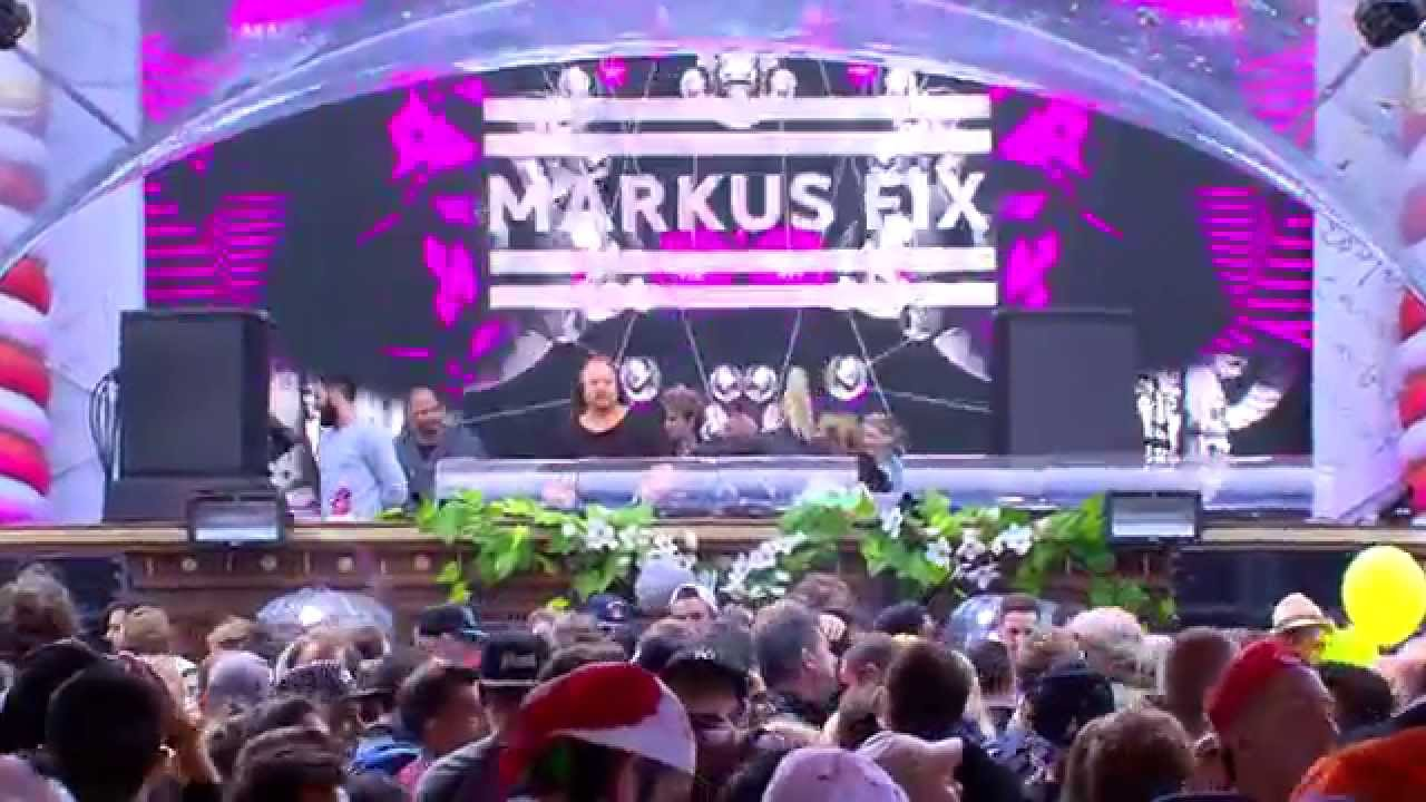 Markus Fix - Live @ Tomorrowland Belgium 2015