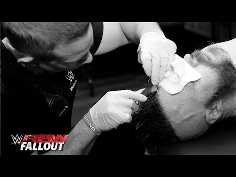 Sheamus Gets Three Stiches After His Match With Dean Ambrose: Raw Fallout, January 11, 2016