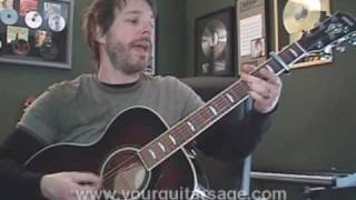 Guitar Lessons - With or Without You by U2 - cover chords Beginners Acoustic songs