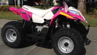 8. 2015 Polaris Outlaw 50 Pink