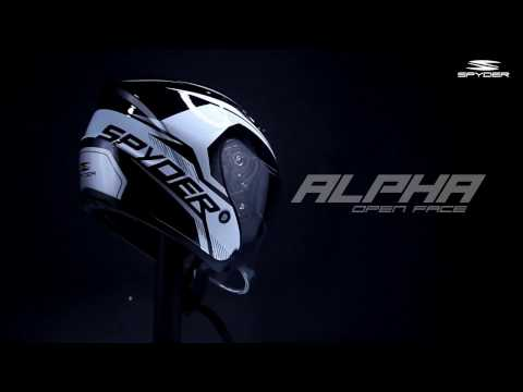 ALPHA : Open Face Helmet