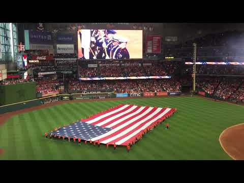 Video Cody Johnson sings National Anthem - Houston Astros Game 3 download in MP3, 3GP, MP4, WEBM, AVI, FLV January 2017