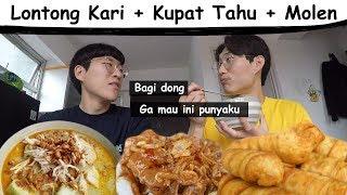 Video Sarapan Ala Orang Bandung(Lontong Kari + Kupat Tahu + Molen) MP3, 3GP, MP4, WEBM, AVI, FLV Maret 2019