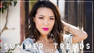 SUMMER 2017 Fashion Trends || Jen Chae