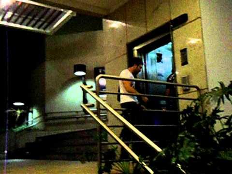 Jimmy McGorman, Steve Ferlazzo e Steve Fekete - Hotel em Brasília 2
