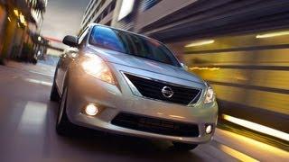 2012 Nissan Versa Review&Drive