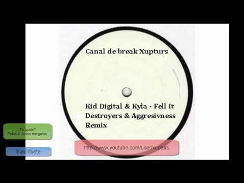 Kid Digital  Kyla - Fell It Destroyers  Aggresivness Remix
