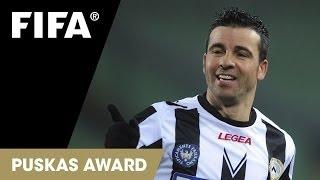 FIFA Puskas Award 2013 nominee: Antonio Di Natale