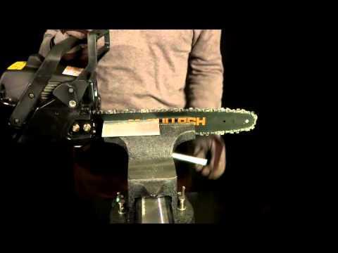 Comment regler une tronconneuse mc culloch la r ponse - Comment affuter une chaine de tronconneuse ...