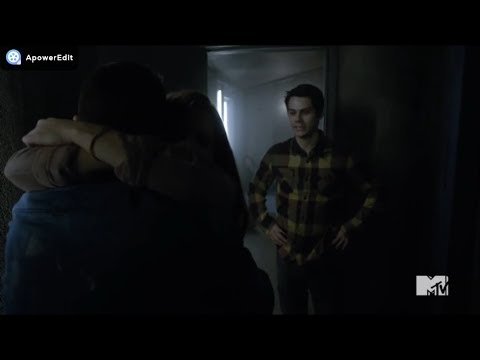 "Teen Wolf 6x20 ""The Wolves of War"" Stiles and Lydia meet Jackson"
