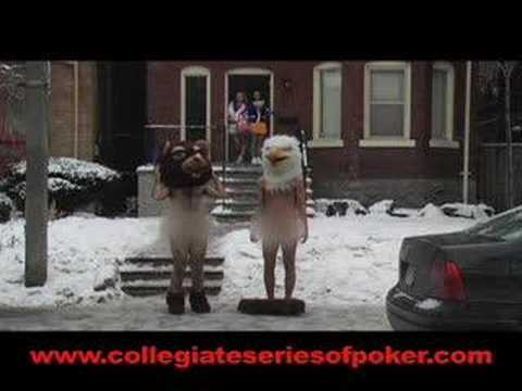 """Strip Poker"" Commercial for Collegiate Series of Poker"