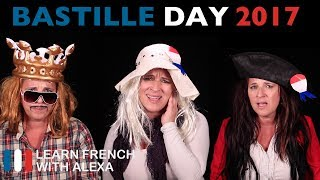 Daniel, Suzanne and Clémentine are celebrating the 14th of July by singing a famous French song. 20% Off Bastille Day Sale at LearnFrenchWithAlexa.com this weekend only with coupon code BASTILLE. Enjoy, bisou bisou xx----------------------------------------------TAKE YOUR FRENCH TO THE NEXT LEVELMy Website ► https://learnfrenchwithalexa.comMy YouTube ► http://learnfren.ch/YouTubeLFWAMy Blog ► https://learnfrenchwithalexa.com/blogSupport me on Patreon ► https://patreon.com/frenchTest Yourself ► https://kwiziq.learnfrenchwithalexa.comMy Soundcloud ► https://soundcloud.com/learnfrenchwithalexa----------------------------------------------GET SOCIAL WITH ALEXA AND HER STUDENTSYouTube ► http://learnfren.ch/YouTubeLFWAFacebook ► http://learnfren.ch/faceLFWATwitter ► http://learnfren.ch/twitLFWALinkedIn ► http://learnfren.ch/linkedinLFWANewsletter ► http://learnfren.ch/newsletterLFWAGoogle+ ► http://learnfren.ch/plusLFWA----------------------------------------------LEARN FRENCH WITH ALEXA T-SHIRTST-Shirts ► http://learnfren.ch/tshirtsLFWA----------------------------------------------MORE ABOUT LEARN FRENCH WITH ALEXA'S 'HOW TO SPEAK' FRENCH VIDEO LESSONSAlexa Polidoro a real French teacher with many years' experience of teaching French to adults and children at all levels. People from all over the world enjoy learning how to speak French with Alexa's popular online video and audio French lessons. They're fun, friendly and stress-free! It's like she's actually sitting there with you, helping you along... Your very own personal French tutor.Please Like, Share and Subscribe if you enjoyed this video. Merci et Bisou Bisou xx----------------------------------------------Ready to take your French to the next level? Visit ► https://learnfrenchwithalexa.com to try out Alexa's popular French courses.