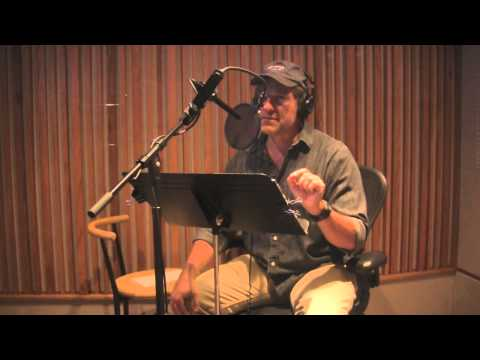 Mike Rowe's incomprehensible ability to voice over while listening to a recording
