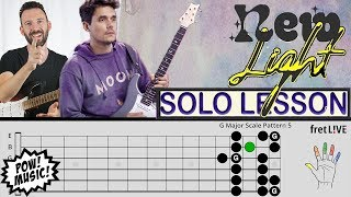 "Video John Mayer ""New Light"" - GUITAR SOLO - Lesson & Analysis w/ fretLIVE (how to play/tutorial) MP3, 3GP, MP4, WEBM, AVI, FLV Juni 2018"