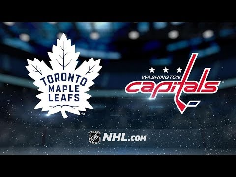 Toronto Maple Leafs vs Washington Capitals – Oct.13, 2018 | Game Highlights | NHL 18/19 |Обзор матча
