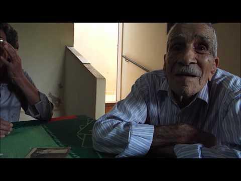 Antenor Maricota, 105 anos, mora em Paranaíba.
