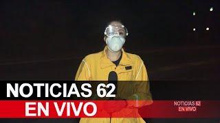 Bomberos luchan por proteger observatorio Wilson – Noticias 62 - Thumbnail