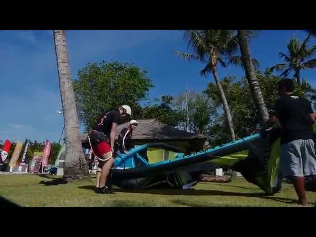 Kite Surfing with Rip Curl Advertising
