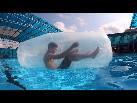 NTN - 4K Thử Bơi Trong Túi Ni Lông ( How to air balloons ) - Thời lượng: 13 phút.