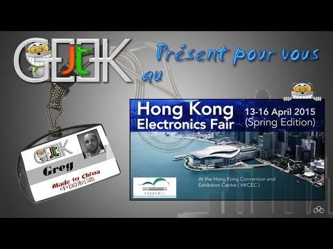 Hong-Kong Electronics Fair full visit par GLG (ST Fr Sp Eng-Sub)