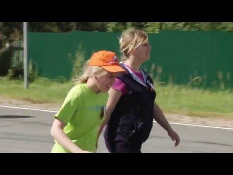 Марш-пробег инвалидов в Бородино