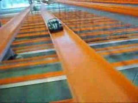 La pista mas grande del mundo bajo techo 1500 metros